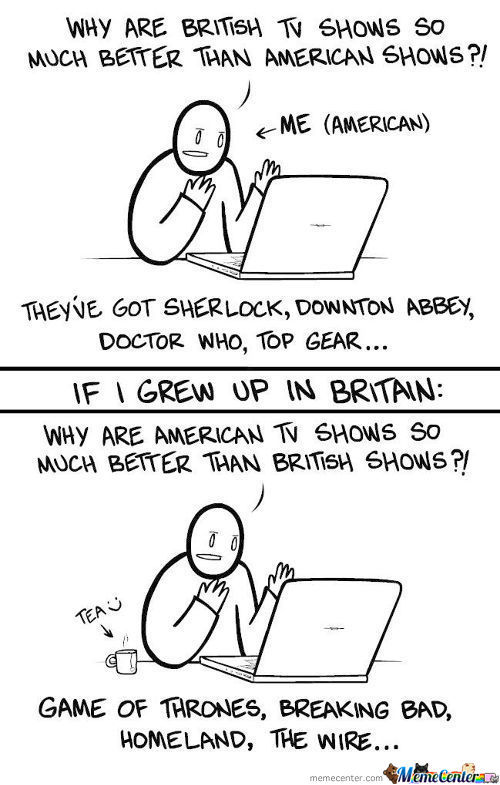 British Vs American Tv