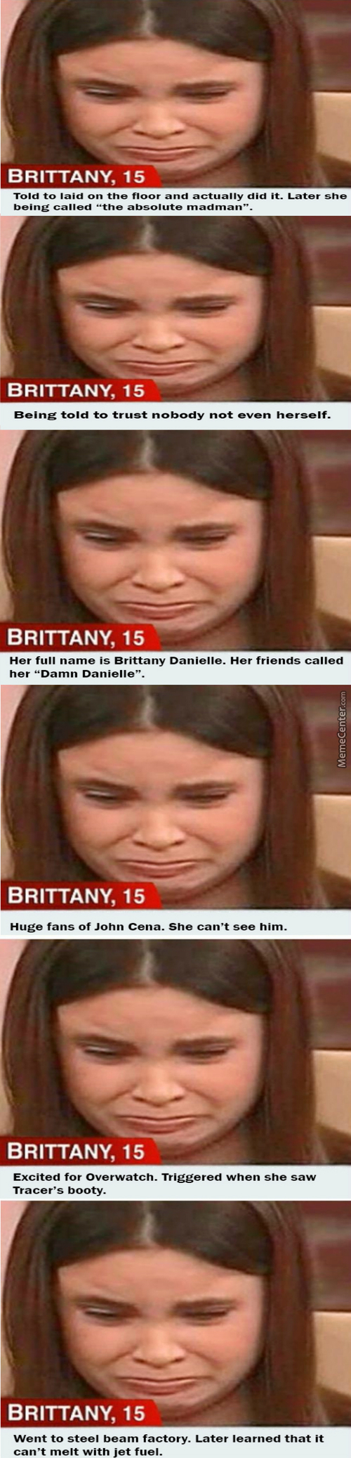 Brittany Went Mc. Saw That She Became A Meme