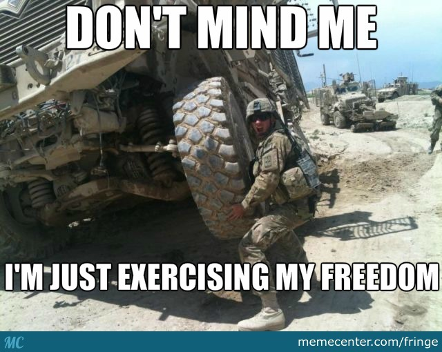 Bro,do U Even Freedom