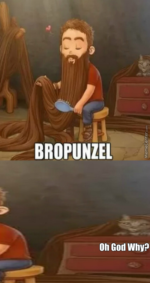 Bropunzel Let Down Your Beard