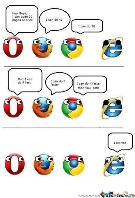 Browser Bragging