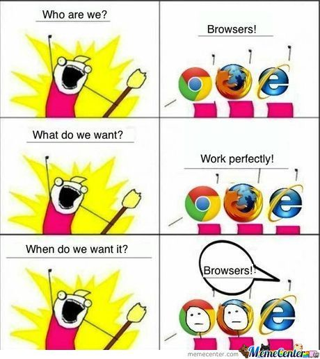 Browsers!