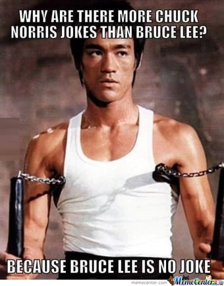 Bruce Is No Joke