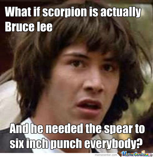 Bruce Lee Needed The Spear To Punch Everyone