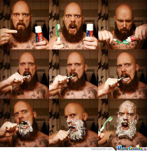 Brushing Teeth Like A Boss!!