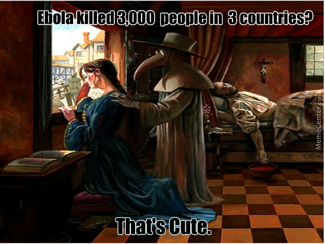 Bubonic Plague Doctor Is Not Impressed. by frvh71398 ...