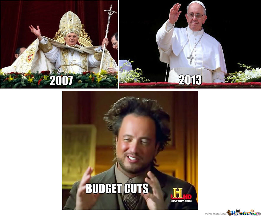 Budget Cuts At Vatican