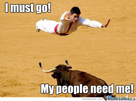 Bullfighting Superman Style