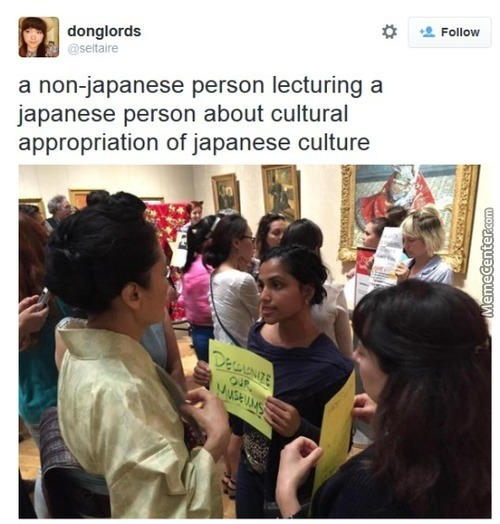 Bunch Of Non-Japanese Young Feminists Trying To Teach Japanese People About Japans Culture... Ok Makes Sense...