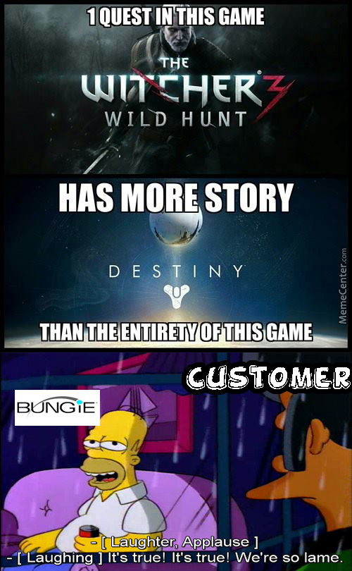 Bungie Were So Lame