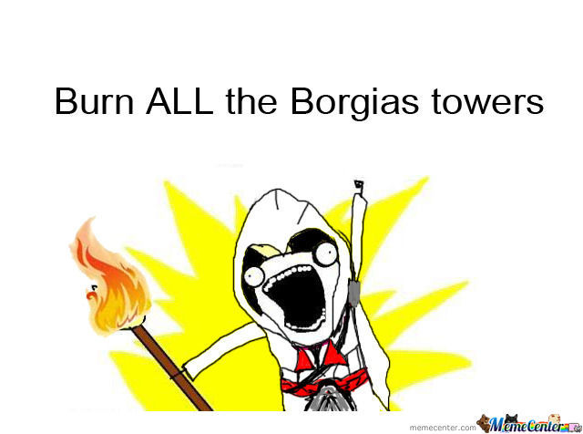 Burn All The Towers
