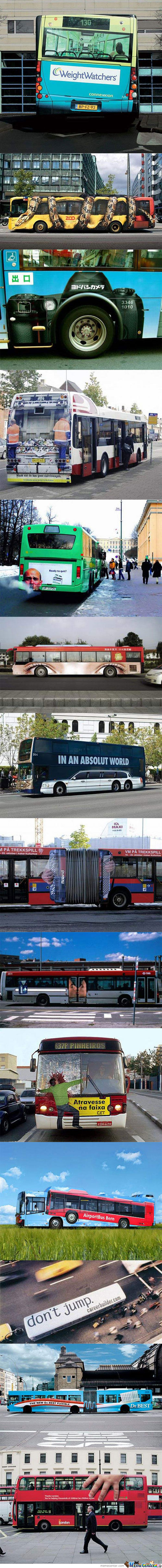 Bus Advertisement
