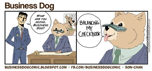 Business Dog (By A Friend)