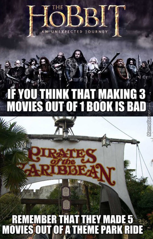 But... I Actually Liked All Potc Movies