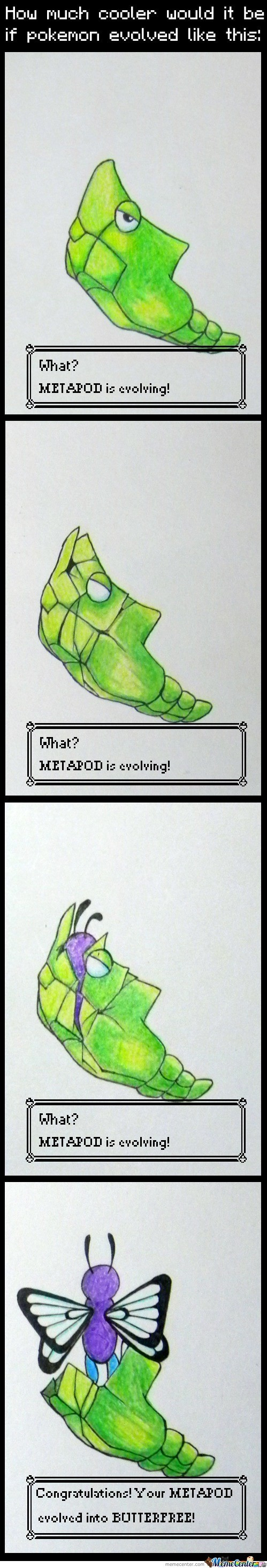 Butterfree Evolution Gone Real