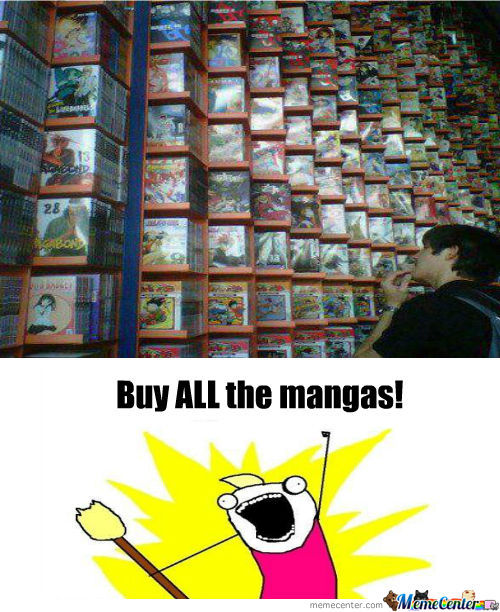 Buy All The Otaku Things!
