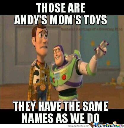 Woody and buzz meme