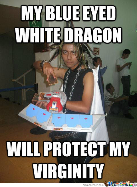 By Blue Eyed White Dragon
