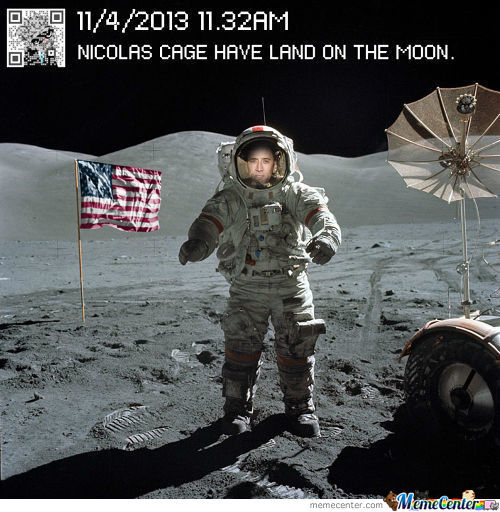 Cage Is On The Moon