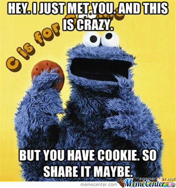 Call Me Maybe Cookie Monster Style