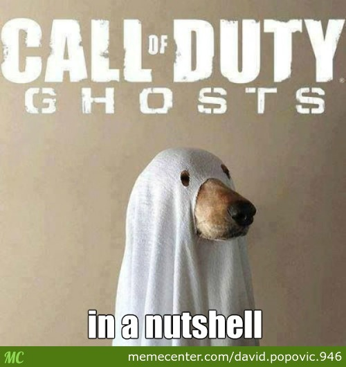 Call Of Duty Ghosts In A Nutshell