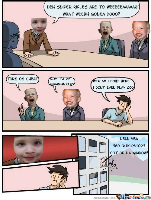 Call Of Duty Kids In The Boardroom