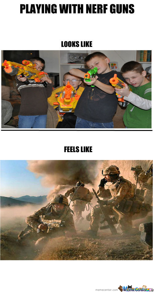 Call Of Duty Modern Nerfwar 3