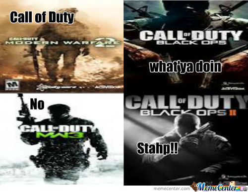 Call Of Duty Stahp