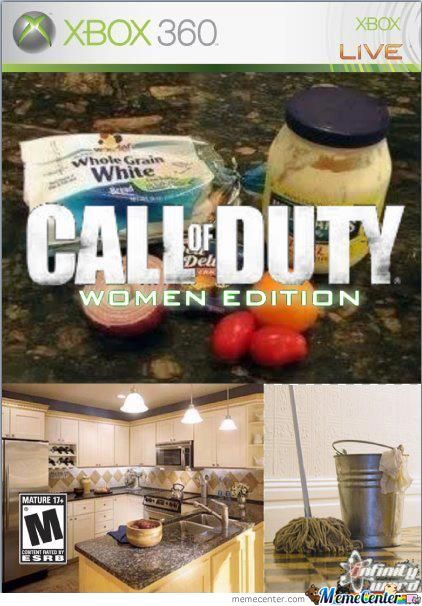 Call Of Duty Woman