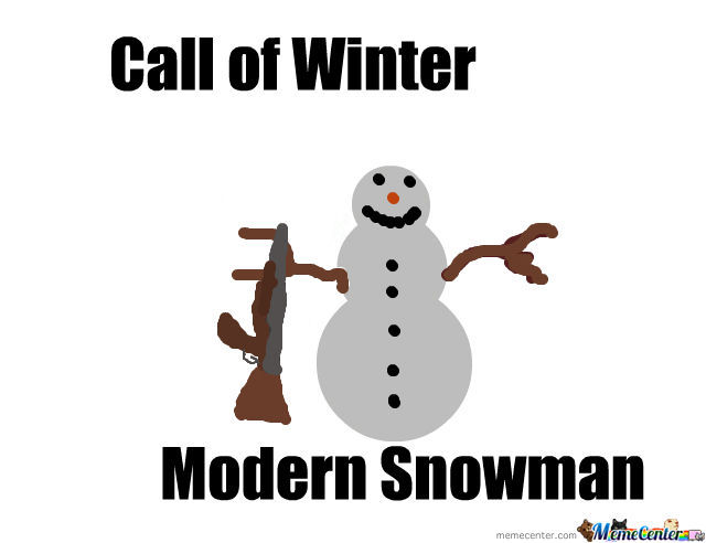 Call Of Winter, Modern Snowman