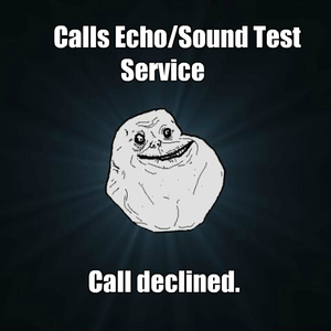Calls Echo/sound Test Service by pwnzaarz - Meme Center