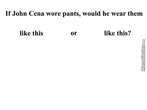 Can't Cena Thing