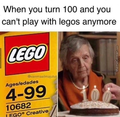Can't Lego Cuz About To Let Go