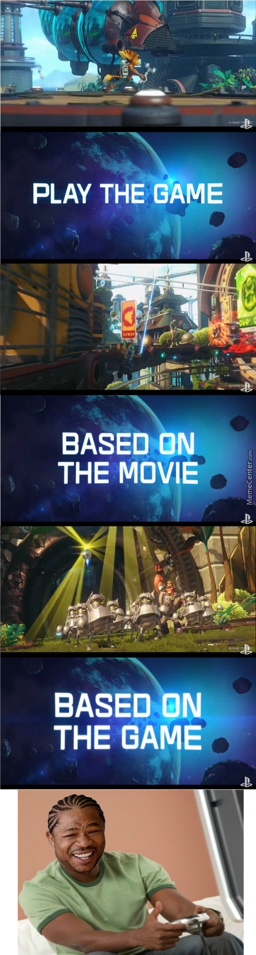 Can't Wait To Watch The Movie Based On The Game Based On The Movie Based On The Game As Well (Ratchet And Clank Movie Game)