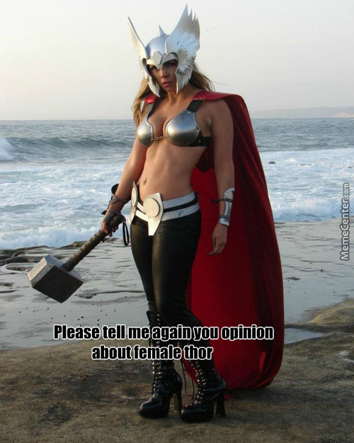 Can You Imagine Lady Thor During Her Period