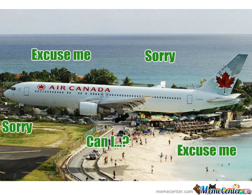 Canadian Airways Landing Procedure