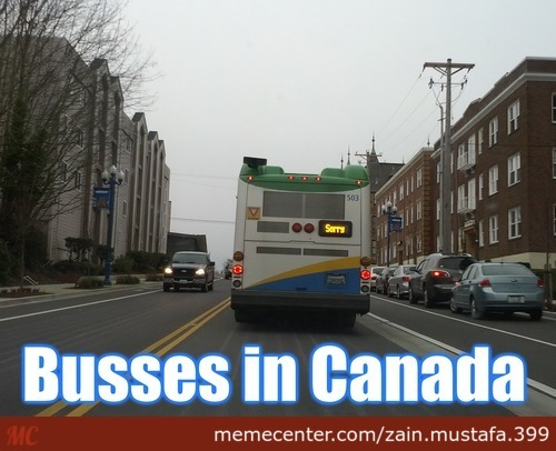 Canadian Busses