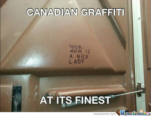 Canadian Graffiti At It's Finest.