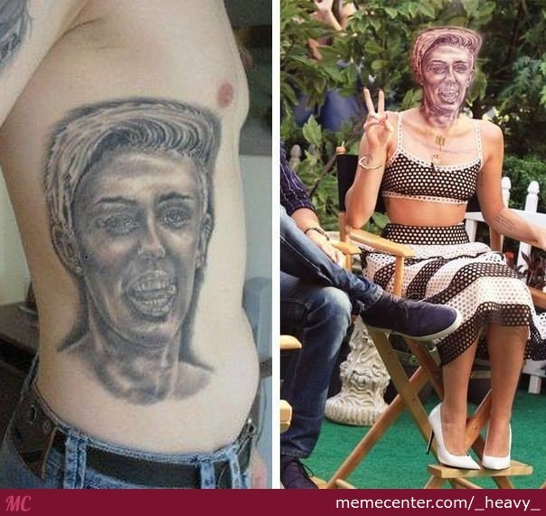 Cancerous Tattoo Is Cancerous