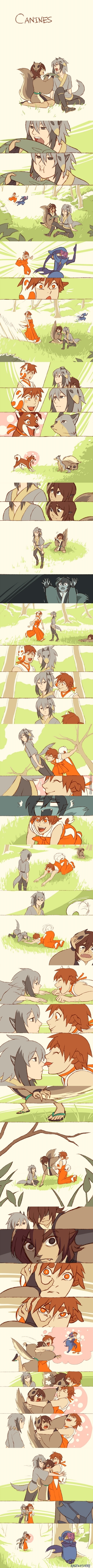 Canines ~ [Chimi Mouryou]