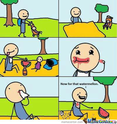 Cannibalism Isn´t Funny, Well A Little Bit Maybe