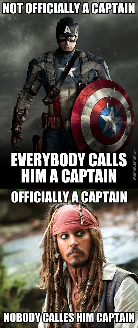 Captain Vs Captain.
