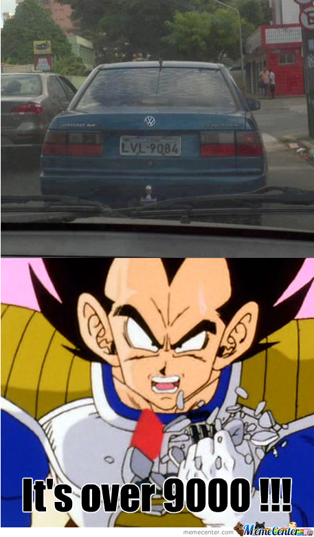 Car Lvl: Over 9000!!!