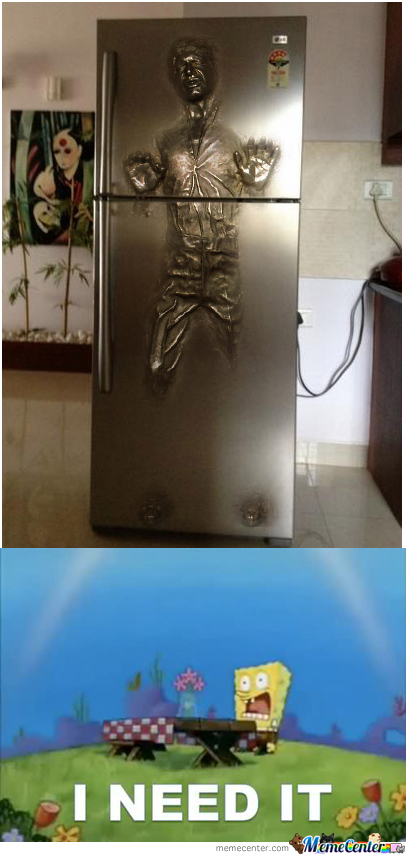 Carbonite Fridge