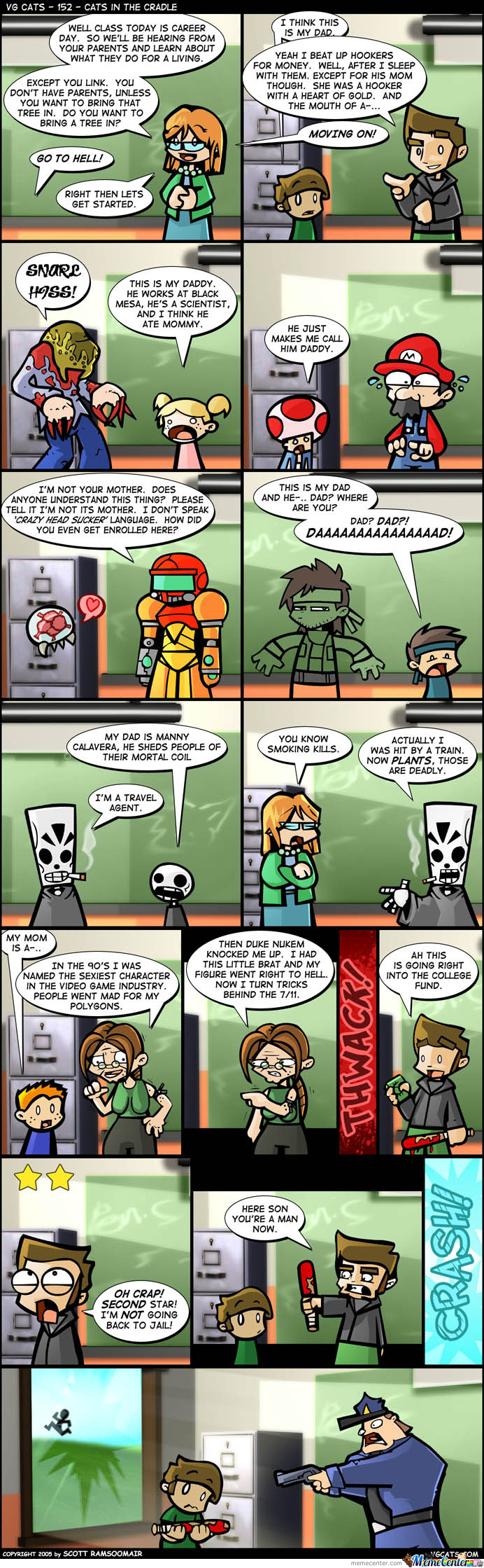 Career Day For Video-Game Characters