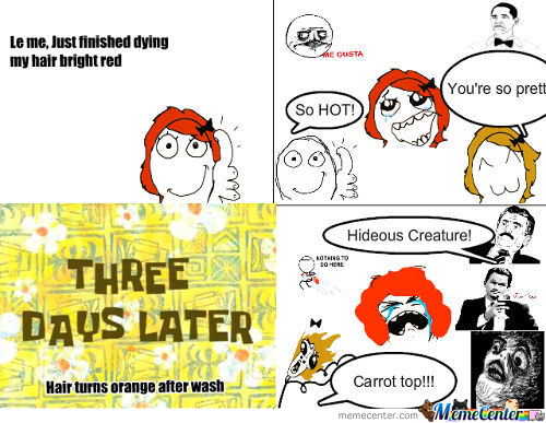 Carrot Top Rage