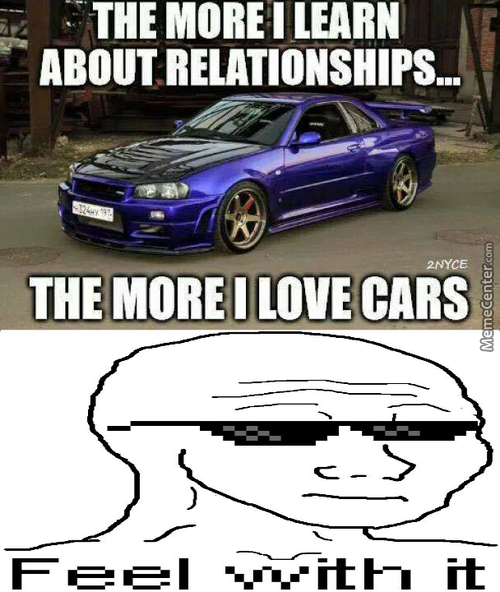 Cars Are Nice Actually... I Ain't Even Mad!