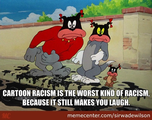 Cartoon Racism