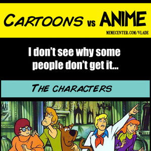 an introduction to the comparison of anime and american animation The japanese word anime アニメ is an abbreviation of animation  (incidentally , should i ever find myself at an american anime convention talking to fans in.