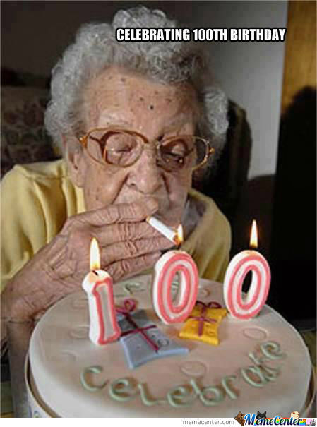 Celebrating 100Th Birthday
